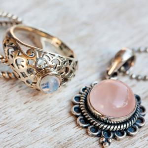 Gemstones, Pendants & Rings